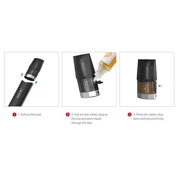 Smok Nfix Pod E-sigarett Startsett