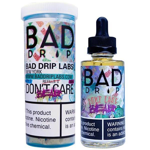 Don't Care Bear ICED OUT - 60 ml Bad Drip E-Juice